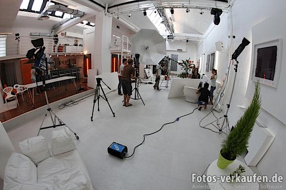 Ein Teil des 10Watt Studios