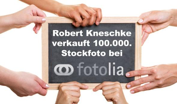 Der deutsche Markt boomt – Robert Kneschke verkauft 100.000. Stockfoto bei Fotolia