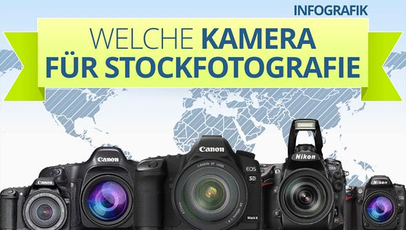 INFOGRAFIK: Welche Kamera für Stockfotografie? Intro