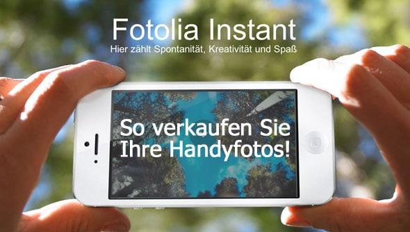 Fotolia Instant - Handyfotos verkaufen