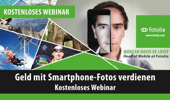 Kostenloses Webinar: Geld mit Smartphone-Fotos verdienen