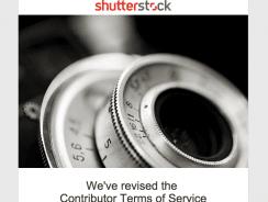 Änderungen für Anbieter bei Shutterstock