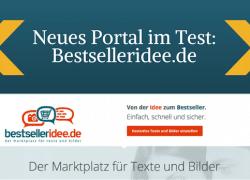 bestselleridee.de – Neues Portal für Fotografen und Autoren