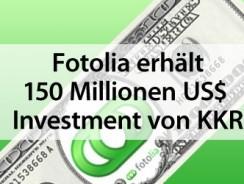 Fotolia erhält 150 Millionen US$ Investment von KKR