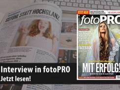 Interview in der FotoPRO – Gefühl statt Hochglanz