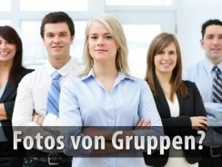 Einwilligung bei Fotos von Gruppen
