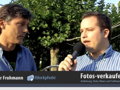 iStockphoto Video-Interview – Fotografenhonorare und Stock Footage