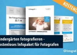 Kindergärten fotografieren – kostenloses Infopaket für Fotografen