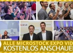 Microstock Expo Videos jetzt kostenlos verfügbar