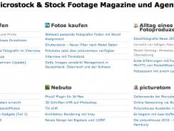 Microstock News Seite gestartet