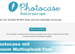 Photocase mit neuem Multiupload-Tool
