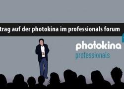 Vortrag auf der photokina im professionals forum