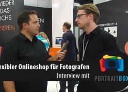 Flexibler Onlineshop für Fotografen – Interview mit Portraitbox