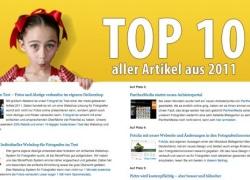 Die 10 interessantesten Artikel 2011