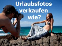 Urlaubsfotos verkaufen – wie?
