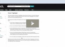 Jetzt W-8 BEN Steuerformular und Zahlungsinformationen bei iStock ausfüllen (mit Video-Anleitung)