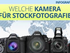 INFOGRAFIK: Welche Kamera für Stockfotografie?